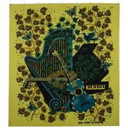 Mid Century Tapestry Signed And Numbered By Jean Picard Le Doux 1955