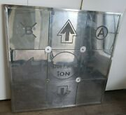 Ddr Ion Metal Arcade Metal Dance Revolution Pad Untested Ps2, Ps3, Xbox, Pc, Wii