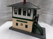 Mth Southern Switch Tower 30-90427 New Custom