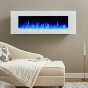 Real Flame 1330e-w Dinatale Wall-mounted Electric Fireplace In White