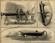 West Point Ny Foundry Cold Spring Weaponry Production 1861 Civil War Print