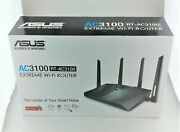 Asus Rt-ac3100 Extreme Wifi Router Black In Box Excellent Shape
