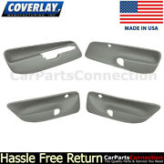 Coverlay Combo Medium Gray 17-94c-mgr For Jetta Front And Rear Door Panel Inserts