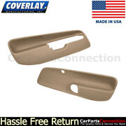 Coverlay Front Door Panel Inserts Light Brown 17-94f-lbr 99-04 For Jetta,gl,vr6