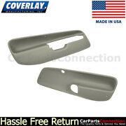 Coverlay Front Door Panel Inserts Taupe Gray 17-94f-tgr 99-04 For Jetta,gl,wagon