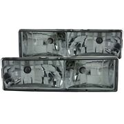 111061 Anzo Headlight Lamp Driver And Passenger Side New For Chevy Suburban Lh Rh
