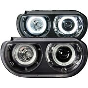 121306 Anzo Hid Headlight Lamp Driver And Passenger Side New Hid/xenon Coupe Lh Rh