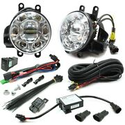 Auer Led Projector Fog Light W/led Drl Upgrade Kit For 2010-2011 Toyota Prius
