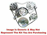 Vips - Turbo Trac Serpentine System - Bb Chevy Satin W/140a Alt And Ps