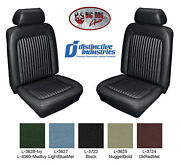 1969 Standard Front Bucket Seat Cover Upholstery By Distinctive Ind. Any Color