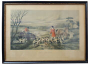 1855' Hand-colored Engraving Etching Print The Death Sheldon Williams Rare