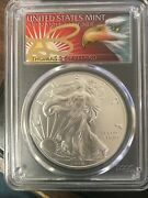 2019 Silver Eagle Pcgs Ms 70 Top Pop First Strike 1 Of 1000 Thomas Cleveland