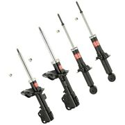 Set-ky339104 Kyb Set Of 4 Shock Absorber And Strut Assemblies New Lh And Rh