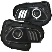 111353 Anzo Headlight Lamp Driver And Passenger Side New Lh Rh For Grand Cherokee