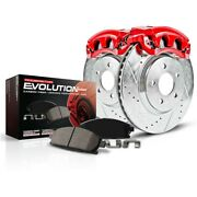Kc1176 Powerstop Brake Disc And Caliper Kits 2-wheel Set Front New For Frontier