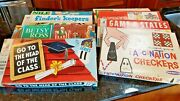 6 Vintage Rare Games Including 1967 Nile Board Game- Collect All 6 Here. Wow