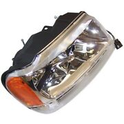 55155552ad Headlight Lamp Passenger Right Side New Sealed Beam Rh Hand For Jeep