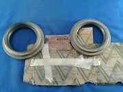 Victor Outer Rear Wheel Seal -pair- 49782 Ford Truck 1934-46 Early Brass