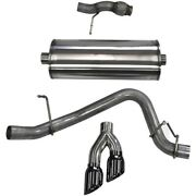 14859blk Corsa Exhaust System New For Chevy Chevrolet Tahoe Gmc Yukon 2015-2017