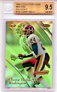Champ Bailey 1999 Edge Masters Hologold 24/25 Bgs 9.5 Jersey 💎 1/1 Rookie Hof