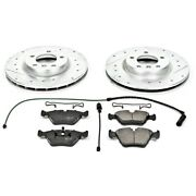K582 Powerstop 2-wheel Set Brake Disc And Pad Kits Front New For 3 Series E36 Z