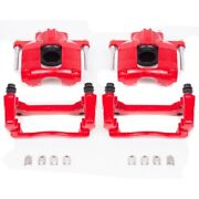 S5044 Powerstop Brake Calipers 2-wheel Set Front Driver And Passenger Side For Vw