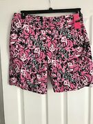 Nwt Lilly Pulitzer Menand039s Beaumont Short Hangin With My Boo 36r Free Shipping