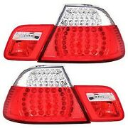 321105 Anzo Set Of 2 Tail Lights Lamps Driver And Passenger Side New For 323 Pair
