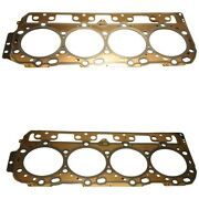 Set-ac12637785 Ac Delco Set Of 2 Cylinder Head Gaskets Driver And Passenger Pair
