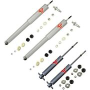 Set-kykg4515 Kyb Shock Absorber And Strut Assemblies Set Of 4 New For Country