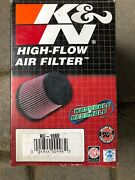Kandn Filters Ru-1080 Universal Air Cleaner Assembly Brand New Unopened