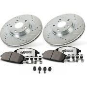 K7292-26 Powerstop 4-wheel Set Brake Disc And Pad Kits Front And Rear New For Ct6