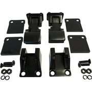 Rt34084 Rt Off-road Hood Latches Locks Set Of 2 New For Jeep Wrangler Cj7 Pair