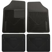 Set-h2151051-4 Husky Liners Floor Mats Set Of 4 Front New Black For Vw Coupe S70
