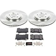 Tdsk4138 Powerstop 4-wheel Set Brake Disc And Pad Kits Front And Rear New For 350z