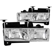 Anzo 111136 Headlight For 88-98 Chevrolet C1500 Left And Right