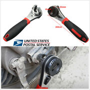 Auto Car Repair Tool Adjustable Ratchet Spanner 6-22mm Opening Wrench Universal