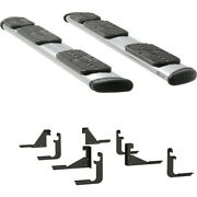 477125-401728 Luverne Set Of 2 Running Boards New Polished For F250 Truck Pair