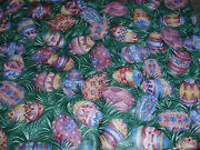 Longaberger Liner Easter Egg Fabric Fits The Small Purse Basket New