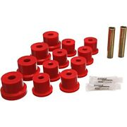 3.2122r Energy Susp Leaf Spring Bushings 2-spring-and-shackle Set Rear New