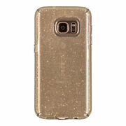 Lot Of 75 Speck Candyshell Clear Case Samsung Galaxy S7 Edge Clear Gold Glitter