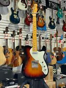 Fender American Original 60s Telecaster Thinline 3-color Burst W/case + Freeship