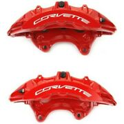 Set-ac1722709-f Ac Delco Brake Calipers 2-wheel Set Front Driver And Passenger New