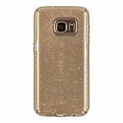 100-pack Speck Candyshell Clear Case Samsung Galaxy S7 Edge Clear Gold Glitter