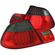 321186 Anzo Set Of 2 Tail Lights Lamps Driver And Passenger Side New For 323 Pair