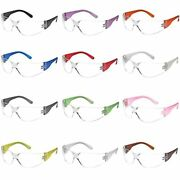 Safety Glasses Assorted Protective Eyewear Ppe Googles For Eye Protection 12 Pcs