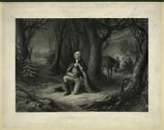 8 X 10 Photo The Prayer At Valley Forge 1866