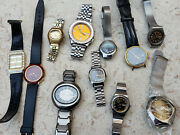 Seiko Orient Citizen Mens And Ladies Automatic Quartz Watches - Lot Of 11 Watches