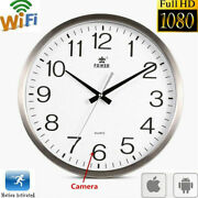 1080p Wifi Full Hd Wall Clock Security Camera Dvr Motion Detection Nanny Record