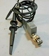 Tektronix P6125 Oscilloscope Counter Probe 51 Atten 5mandomega 20pf 1.5 Meters